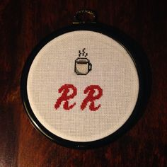 Handmade Double R Diner Cross-Stitch Twin Peaks heckkate.etsy.com