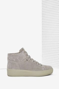 Alexandra Suede High Top Sneakers - Shoes | Flats