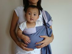 Instructions for different ways to use a ring sling