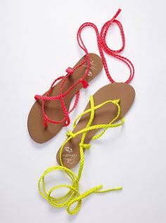 Cute VS Sandals, perfect for the beach :)