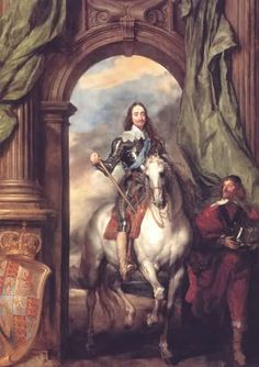 King Charles 1 on Horseback - Anthony Van Dyke.