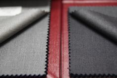 Cloth: Hesworth Le Montagne (AR 8226 44 - AR 8226 47) #grey #gray #tailoring #mensfashion Men's Fashion, Shades Of Grey, Tea Cups, Fabrics, Card Holder, Gray, Moda Masculina, Tejidos, Mens Fashion
