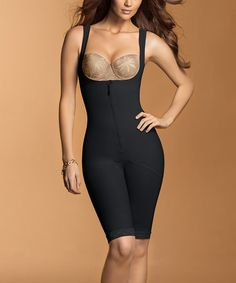 fdec24c61c  54.99 Love this Black Thigh-Slimmer Underbust Body Shaper - Women  amp   Plus on