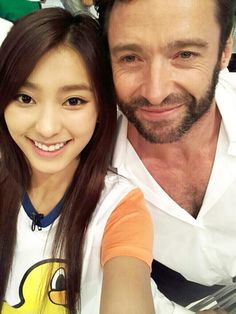 Bora at TV Show 'STAR KING' with Wolverine.
