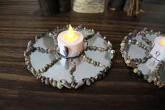 Upcycled Tea Light Creation by TFAS on Etsy, $20.00