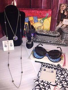 NWT Brighton WOODSTOCK Violet Purple DOUBLE Leather Bracelet MSRP $50