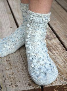 Ravelry: Riverside Socks pattern by Jenn Morgan