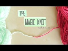"Excellent technique for joining! This will be my ""go-to"" way! The Magic knot…"
