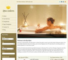 Create a website for Spa, Salon or other service providing business and Manage Appointments Online in WordPress.