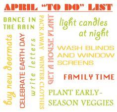 April To Do List (sas-does.blogspot.ca)