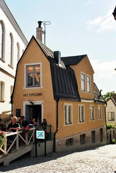 Just a small cup of coffee ! - Visby, Gotland, Sweeden.