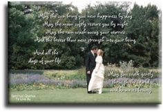 marriage poems and blessings - Google Search