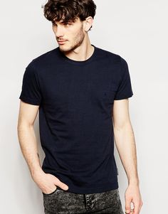 Image 1 ofFrench Connection T Shirt Basic Logo mens style