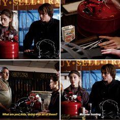 Nancy Wheeler and Jonathan Byers - Stranger Things