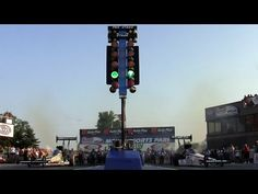 ▶ 2014 Night Under Fire Brittany Force Antron Brown Nitro Top Fuel Nostalgia Drag Racing - YouTube