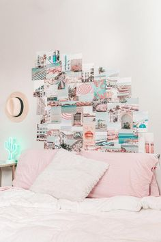 Wall Collage Decor, Bedroom Wall Collage, Framed Wall Art, Collage Ideas, Collage Art, Plywood Furniture, Room Ideas Bedroom, Bedroom Decor, Teen Bedroom