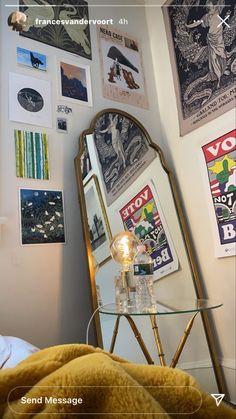 Room Ideas Bedroom, Bedroom Inspo, Dream Bedroom, Bedroom Wall, Bedroom Decor, Interior Inspiration, Room Inspiration, Home Alone, Room Goals