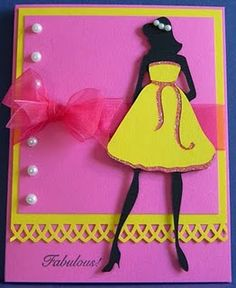 Forever Young cricut card with girl