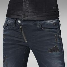 G-Star RAW | Women | Jeans | LYNN ZIP SKINNY - Water in my mouth. Totally jeans freak!
