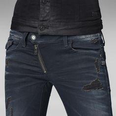 G-Star RAW | Women | Jeans | LYNN ZIP SKINNY - Water in my mouth. Totally jeans freak!