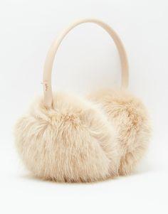 http://www.styleyourwear.com/category/ear-muffs/ Image 3 of Ted Baker Faux Fur Ear Muffs