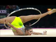 Mundial Rítmica 2011. Final Aro (7/9) Evgenia Kanaeva rhythmic gymnastics