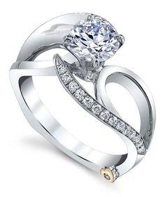 Delight Engagement Ring - Mark Schneider Design
