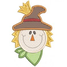 Free Whimsical Scarecrow Applique Machine Embroidery Designs by JuJu Brother Embroidery Machine, Machine Embroidery Projects, Machine Embroidery Applique, Free Machine Embroidery Designs, Fall Applique Designs, Applique Patterns, Embroidery Store, Embroidery Files, Embroidery Jewelry