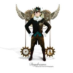 My Steampunk version for a recent photographic project called Daydreams.