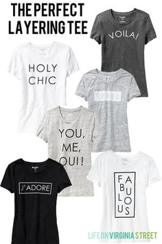 the perfect layering tee