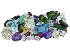 Parcel Of Mixed Faceted Gemstones 75.00ctw