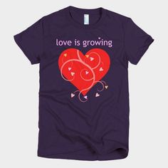 Love is growing.