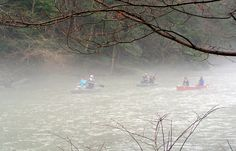 Canoeing at Mohican State Park