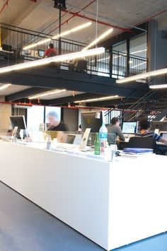Check Out the Offices of F.biz. #openplanoffice