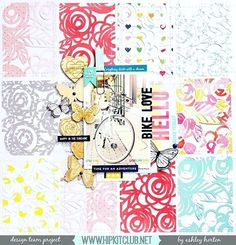 I love my Hip Kits, I love cut files and I love my bike, so I put them all together on this new layout for using the April 2016 Hip Kit & Add-On Kits! Scrapbook Pages, Scrapbook Layouts, Scrapbooking, Hip Kit Club, Love Time, Silhouette America, Simple Stories, Studio Calico, American Crafts