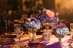 Floral and décor by Southern Event Planners Photo by Snap Happy