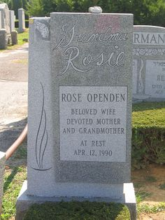 (going) The Extra Yad: Tombstone Tuesday: Rose Rothman Openden and Harry Openden, Montefiore Cemetery, Queens, NY