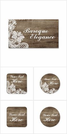 Baroque Elegance on @zazzle #Rustic #Vintage #Wood #Lace #TattedLace #SmallBusiness #Handmade #Boutique #Farmhouse #Country #Boho #ShabbyChic #Cottage #Chic #Business #Cards #Stickers #Labels #DIY #Branding #Marketing