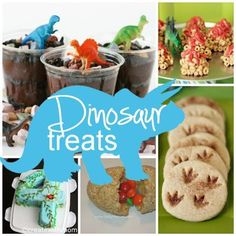 "Dinosaur Treats -- I made this for my daughter's 4K classroom as a snack for ""D"" Dinosaur week. It was a HUGE hit!!!!"