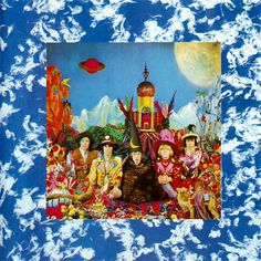 The Rolling Stones: Their Satanic Majesties Request Original Cover was a defraction gradient hologram. See if you can spot the hidden Beatles!