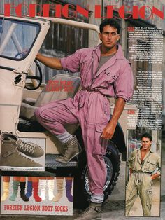 When test pilot flight suits were RAD