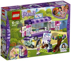 LEGO Friends 41332 : Emma's Art Stand