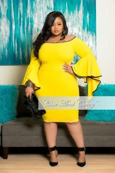Plus Size -They can't keep their eyes off you!