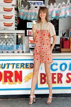 Lindsey Wixson Fronts Americana Manhasset Resort 2014 Ads