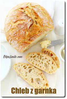 Chleb z garnka Kitchen Recipes, Baking Recipes, Healthy Recipes, Savoury Baking, Breakfast Recipes, French Toast, Recipies, Food And Drink, Vegan
