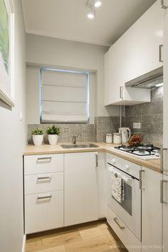 Dorota Szelągowska, Blog Doroty Szelągowskiej Kitchen Cabinet Styles, Grey Kitchen Cabinets, Kitchen Backsplash, Kitchen Furniture, Kitchen Interior, Minimal Kitchen, Rustic Home Design, Boho Kitchen, Small House Plans