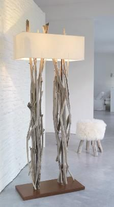 Driftwood Lamp - Ideas on Foter Driftwood Lamp, Driftwood Crafts, Diy Furniture, Furniture Design, Furniture Online, Luminaria Diy, Deco Luminaire, Creation Deco, Wooden Lamp