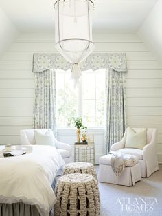 Top Ten: Blue and White Bedroom Designs