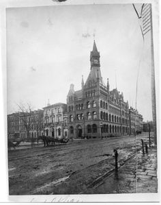 The Canada Life Assurance Company Building, Hamilton Ontario was built in 1883 and demolished in 1972. It was located on the southeast corner of King and James Streets.