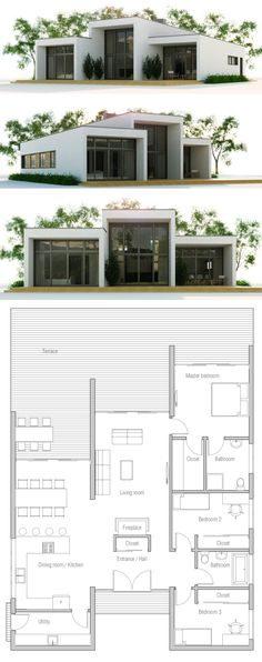 Container Homes Plans - Container House - Small House Plan Who Else Wants Simple Step-By-Step Plans To Design And Build A Container Home From Scratch? Who Else Wants Simple Step-By-Step Plans To Design And Build A Container Home From Scratch? Contemporary House Plans, Modern House Plans, Small House Plans, Modern House Design, House Floor Plans, Unique House Plans, Building A Container Home, Container House Plans, Container House Design